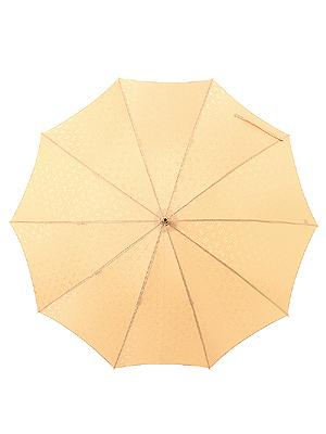ハートフルパピヨン・ジャカード長傘
