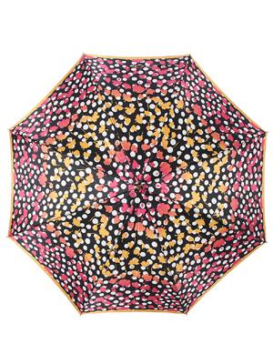 水玉フラワー・ジャンプ長傘