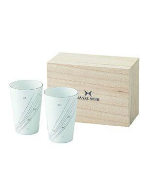 リプル 木箱入ペアフリーカップセット