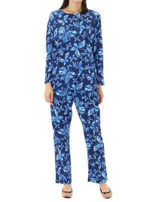 マーブリングバタフライ かぶりパジャマ