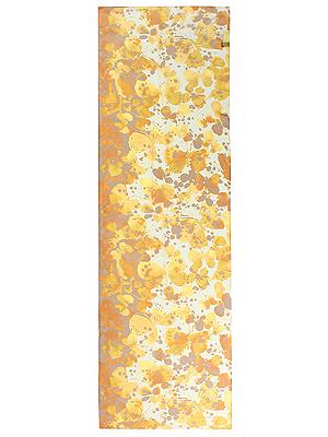 パピヨン シルクローンロングスカーフ